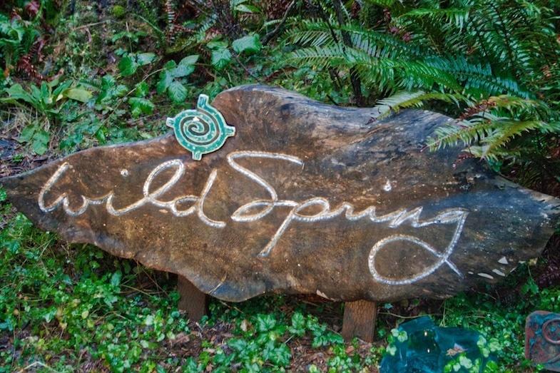 WildSpring Guest Habitat sign by MikesRoadTrip.com