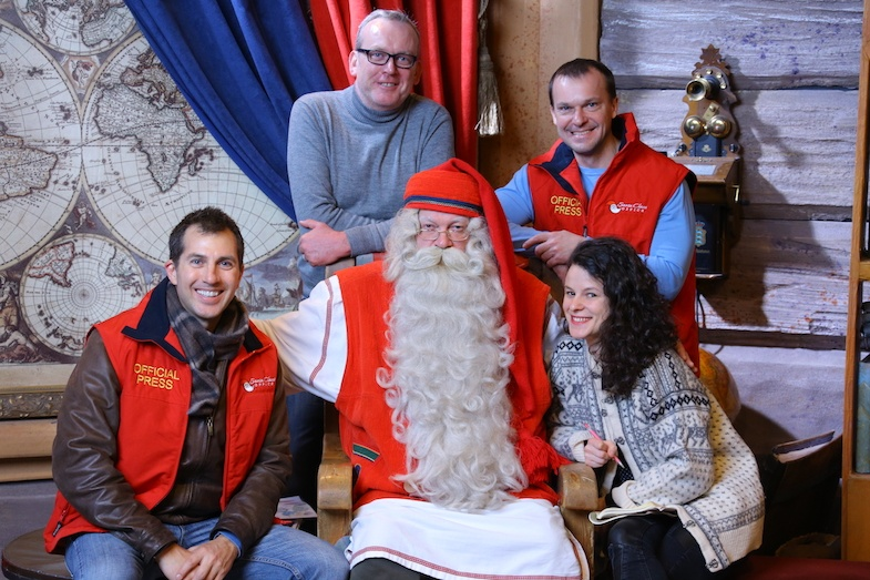 The real Santa-Claus in the Arctic Circle
