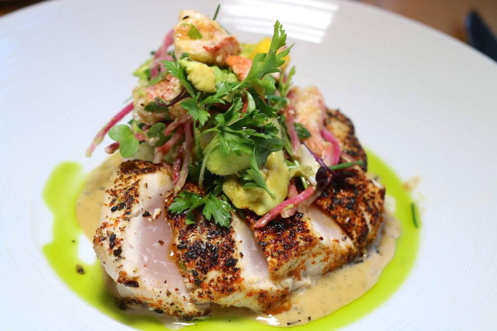 Hamachi Sashimi at Sanctuary's elements restaurant - Photo by Mike of MikesRoadTrip.com