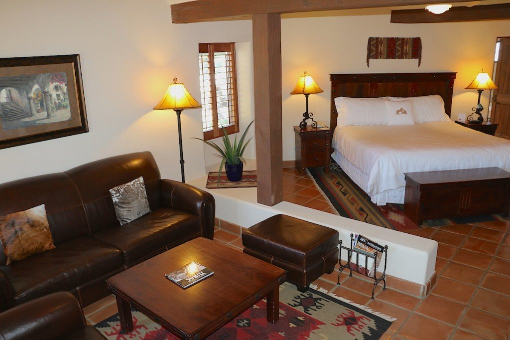 Hacienda King room at Tubac Golf Resort