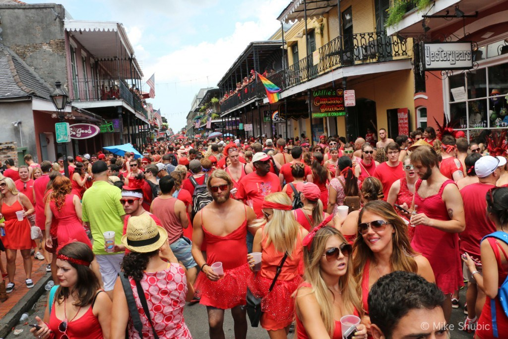 travel in your 20s to New Orleans
