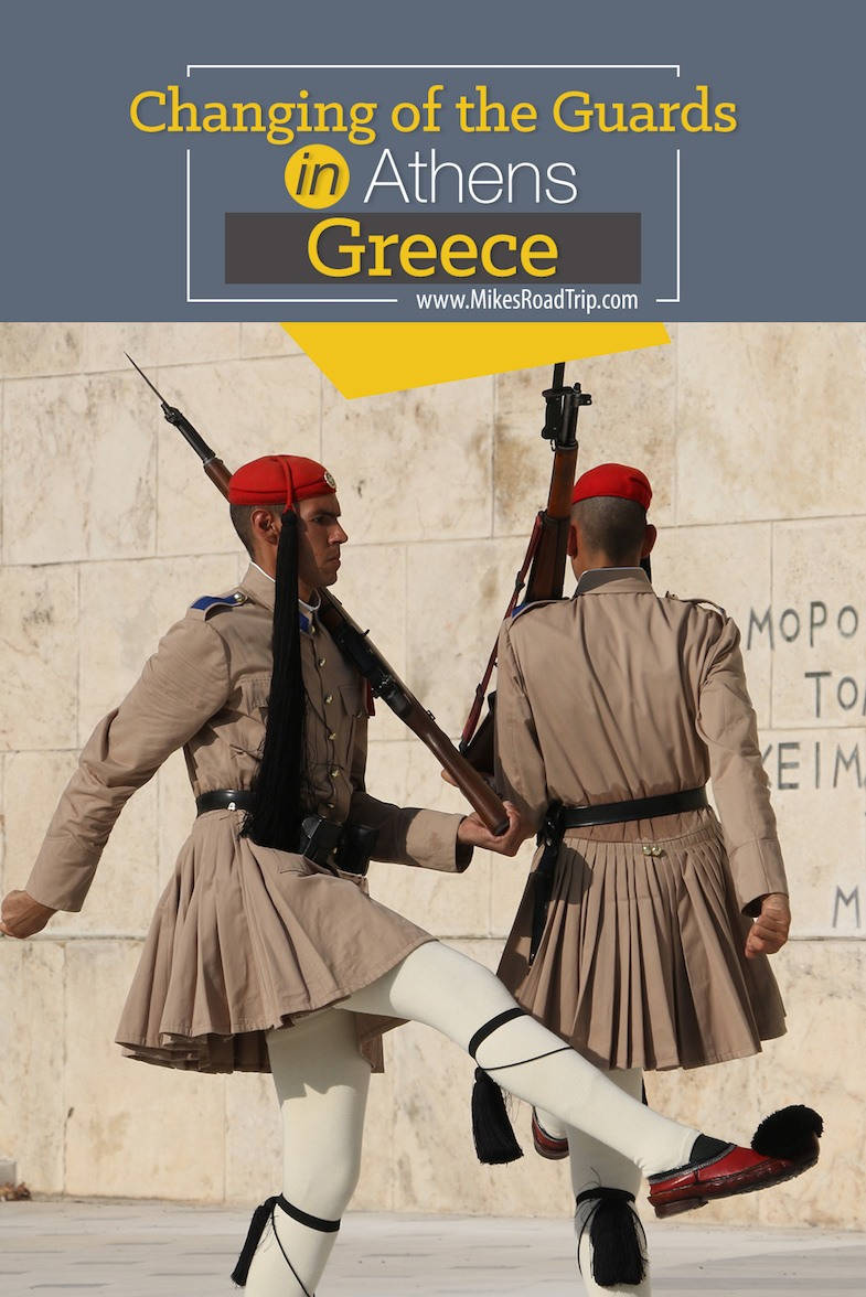 Changing of the Guards in Athens, Greece by MikesRoadTrip.com