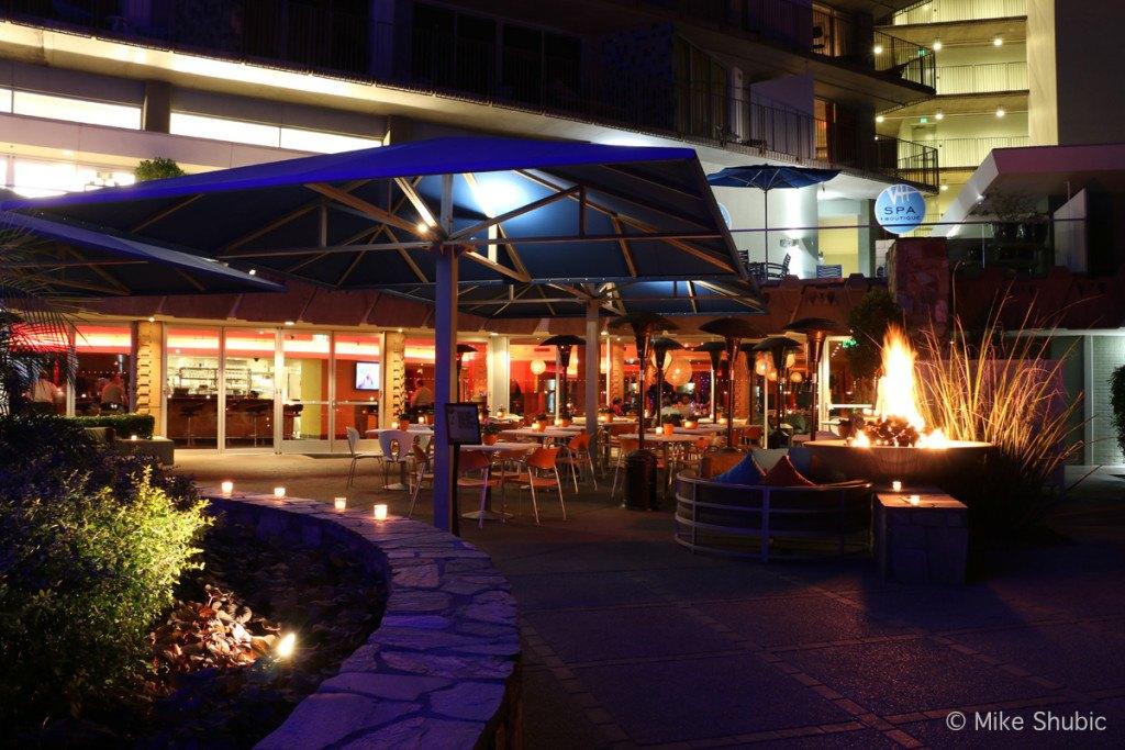 ZuZu Restaurant patio at Hotel Valley Ho