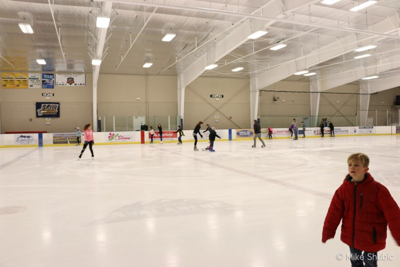 Ice skating is one of many winter things to do in Flagstaff