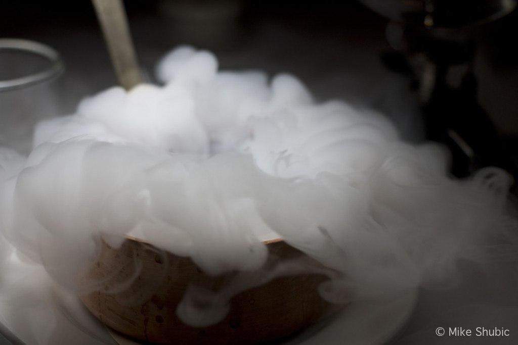 Smoky dessert at Binkley