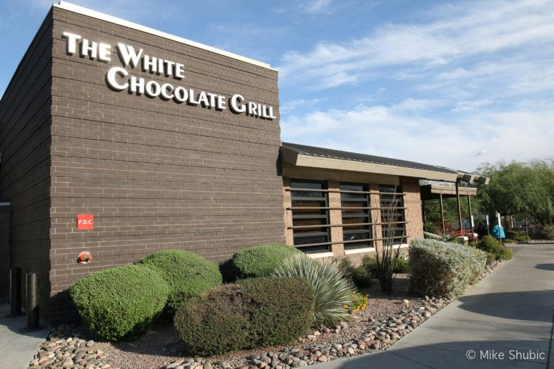 The White Chocolate Grill in Scottsdale is part of Arizona Restaurant Week. Photo by: MikesRoadTrip.com