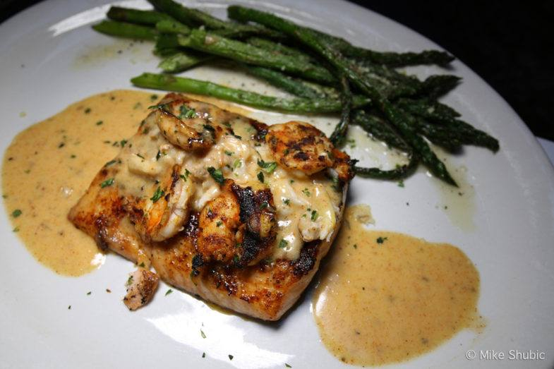 Salmon at White Chocolate Grill by MikesRoadTrip.com