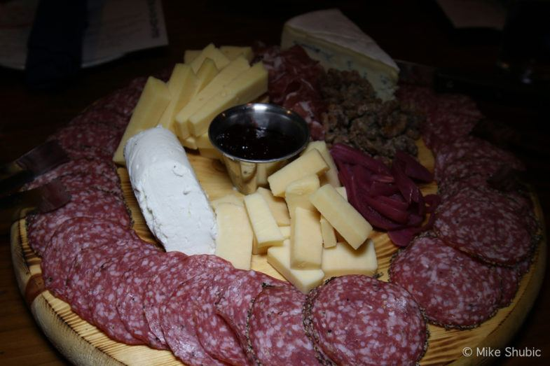 Meats and Cheeses at Tavern Americana by MikesRoadTrip.com