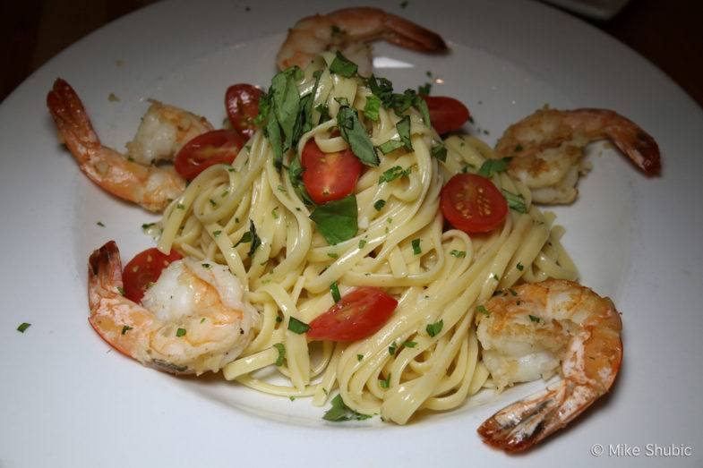 Shrimp Linguini at Tavern Americana by MikesRoadTrip.com
