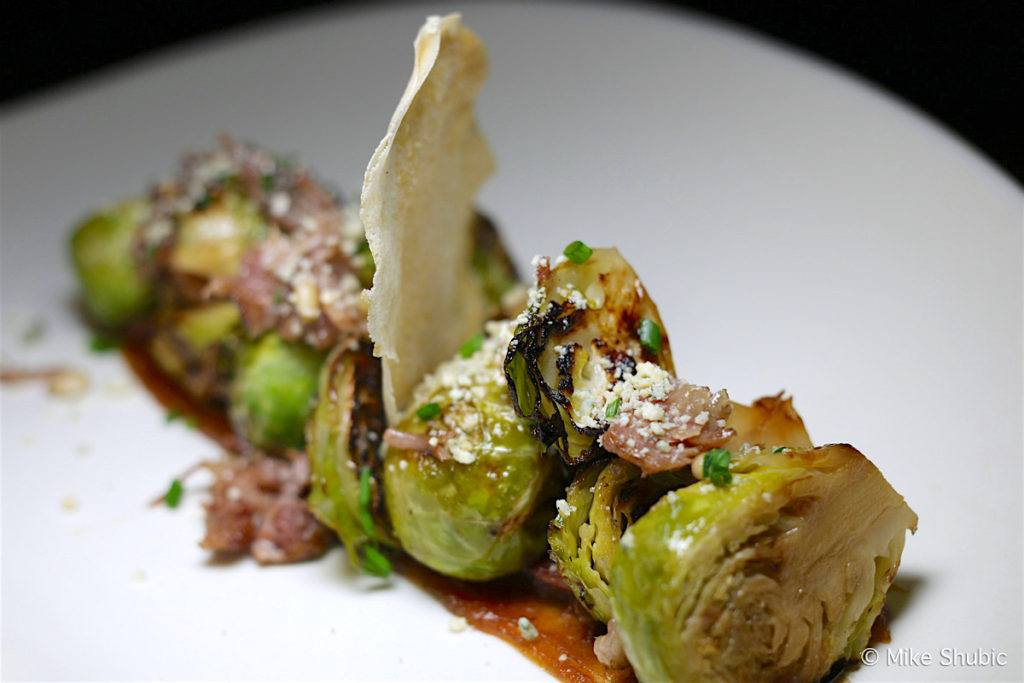 roasted Brussels Sprouts at House Brasserie by MikesRoadTrip.com