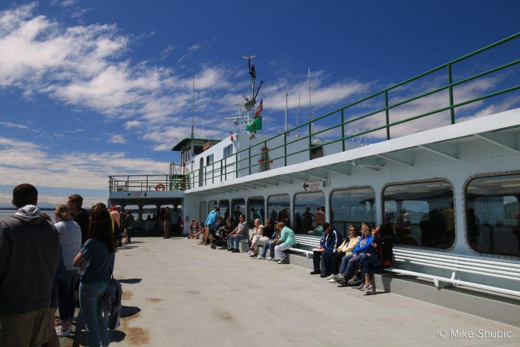 Washington State Ferry to San Juan Islands photo by MikesRoadTrip.com
