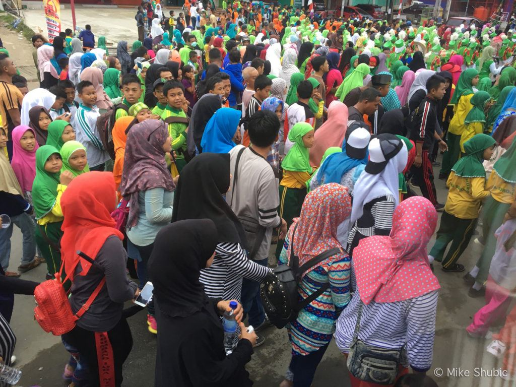 Parade in Sorong, Indonesia