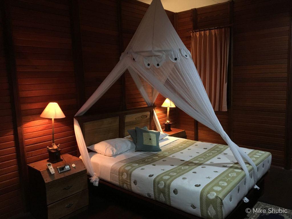 bedroom at Raja Ampat Dive Lodge by MikesRoadTrip.com