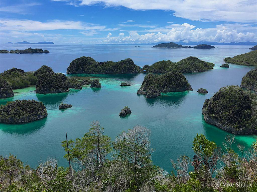 Wayang Island Raja Ampat views