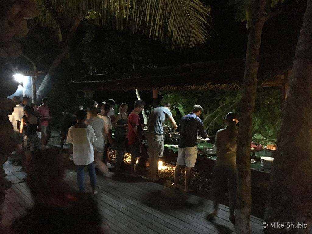 Feast at Raja Ampat Dive Lodge
