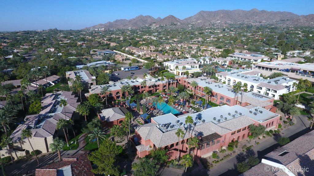 Omni Montelucia Resort aerial photo by MikesRoadTrip.com