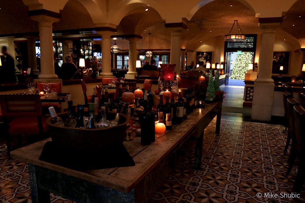 Inside Prado restaurant at Montelucia - photo by MikesRoadTrip.com