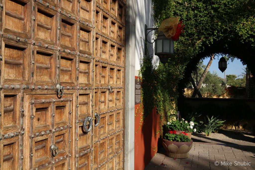 16th Century Doors at Montelucia by MikesRoadTrip.com