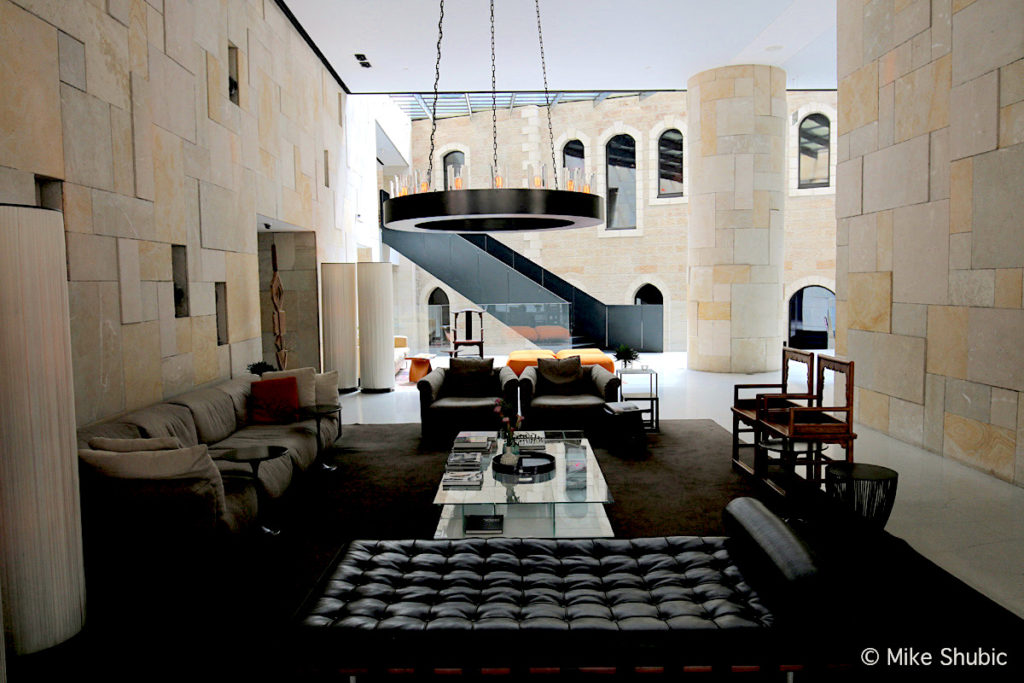 The Mamilla in Jerusalem is one of the best hotels in the world - Photo by: MikesRoadTrip.com