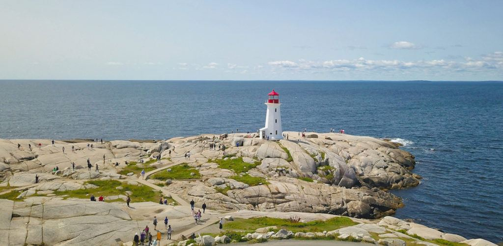 Peggy's Cove is one of the Top-10 Places to visit in Nova Scotia Canada