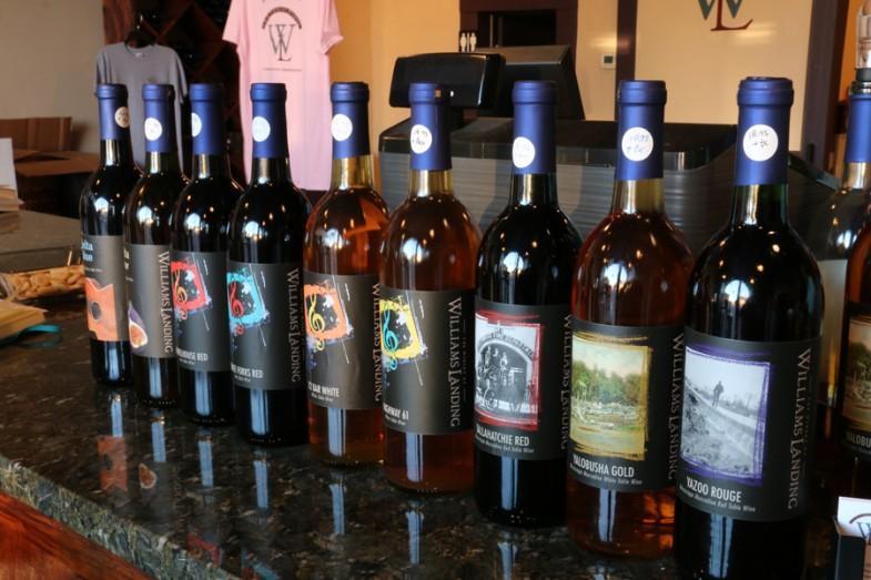 Williams Landing Winery Greenwood MS