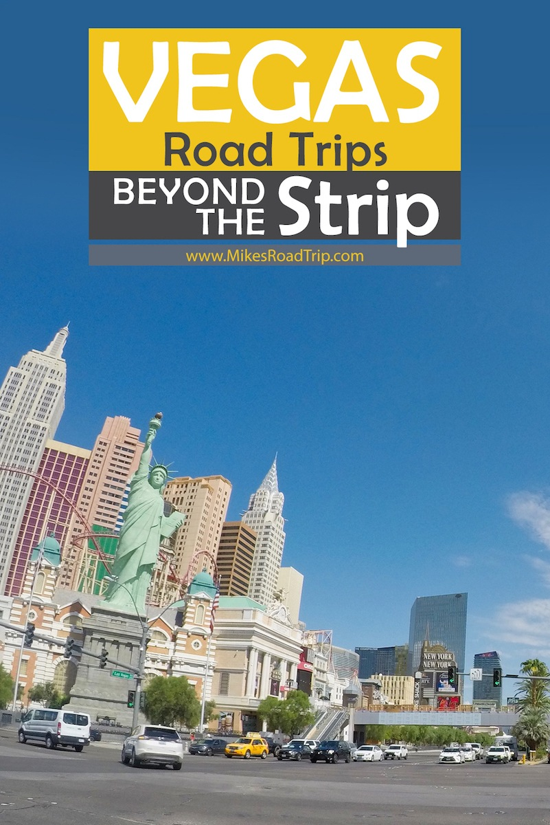 Vegas Road Trips Pinterest Pin by MikesRoadTrip.com
