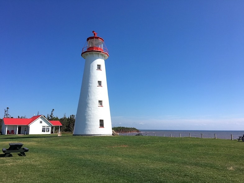 Maritime Canada Lighthouses - Prim Point Light Station on PEI by Mike Shubic of MikesRoadTrip.com