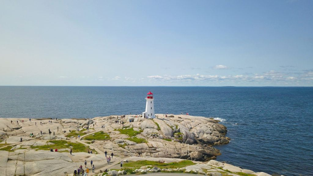Peggy's Cove Maritime Canada Lighthouses by Mike Shubic of MikesRoadTrip.com