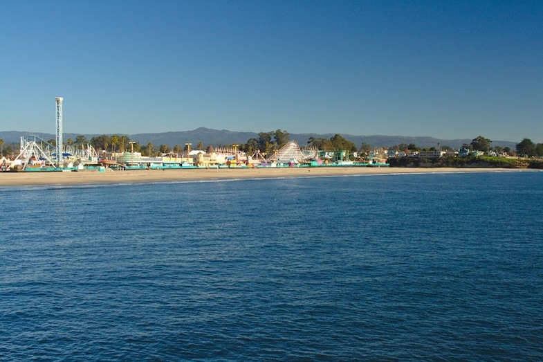 Paddleboarding destinations - Santa Cruz by Mike Shubic of MikesRoadTrip.com