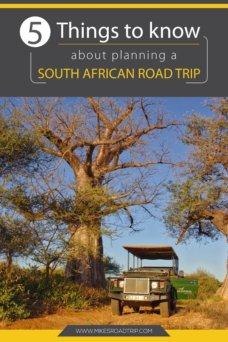 South African road trip Pinterest Pin
