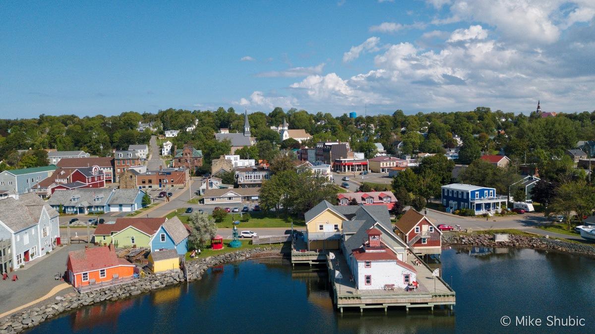 Pictou Nova Scotia aerial photo by MikesRoadTrip.com