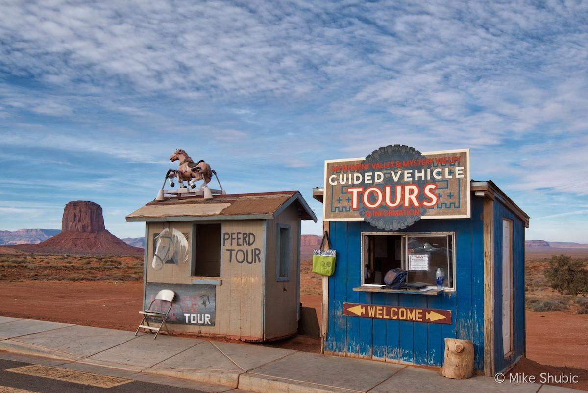 Tour Shacks in Monument Valley Arizona by MikesRoadTrip.com