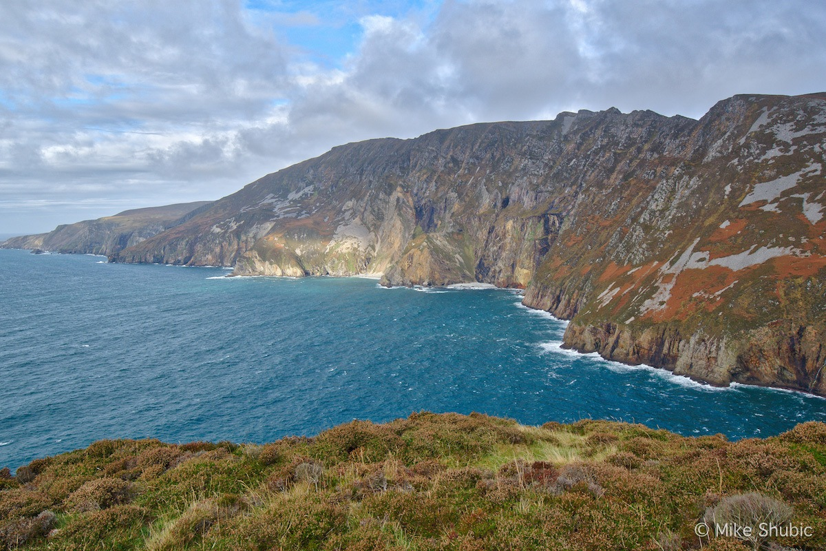 Sliabh League in Donegal along the Wild Atlantic Way by MikesRoadTrip.com