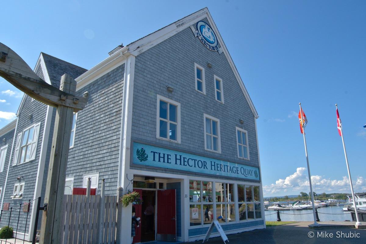 Hector Heritage Quay Museum by MikesRoadTrip.com