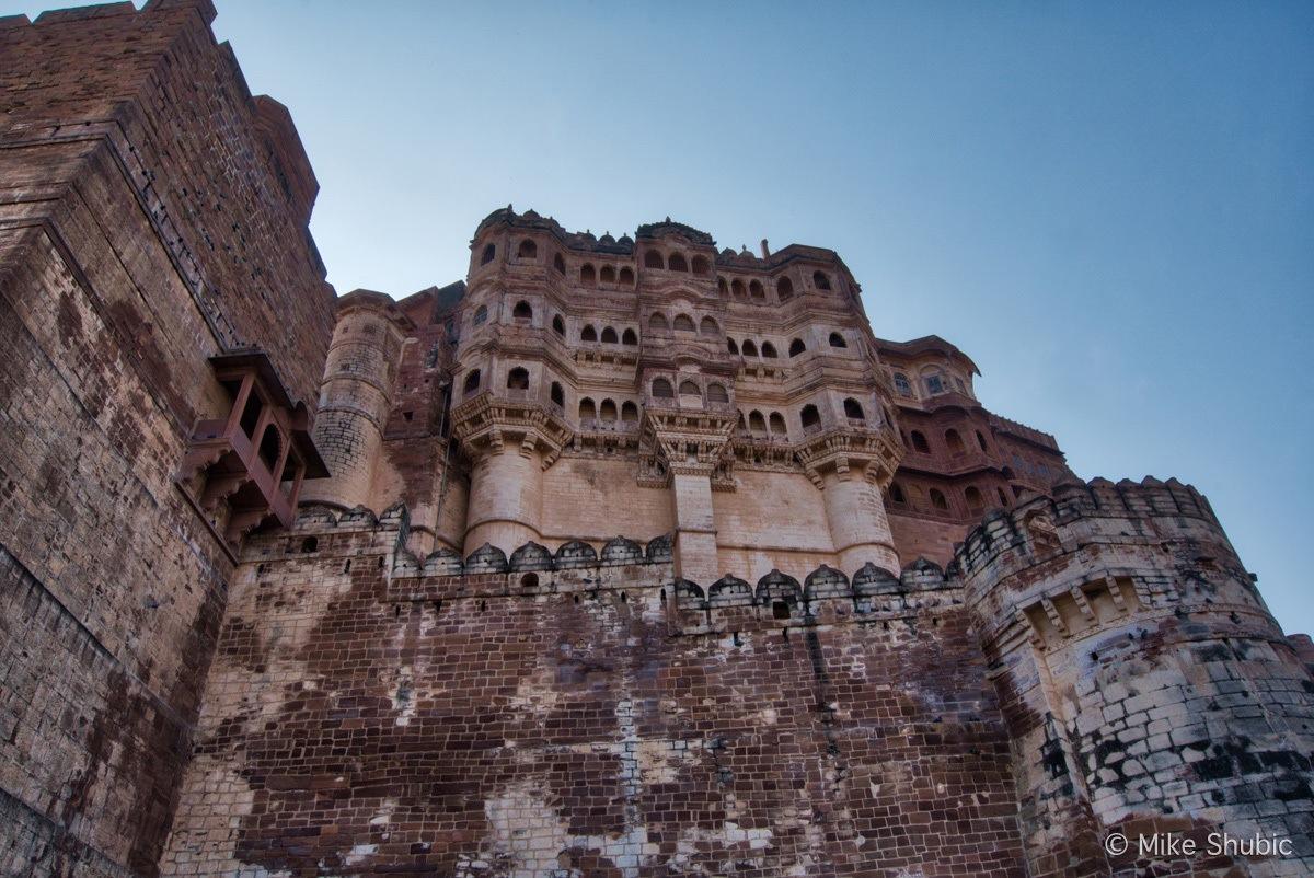 Jodhpur fort by MikesroadTrip.com