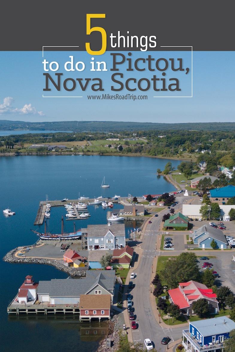 top things to do in Pictou Nova Scotia