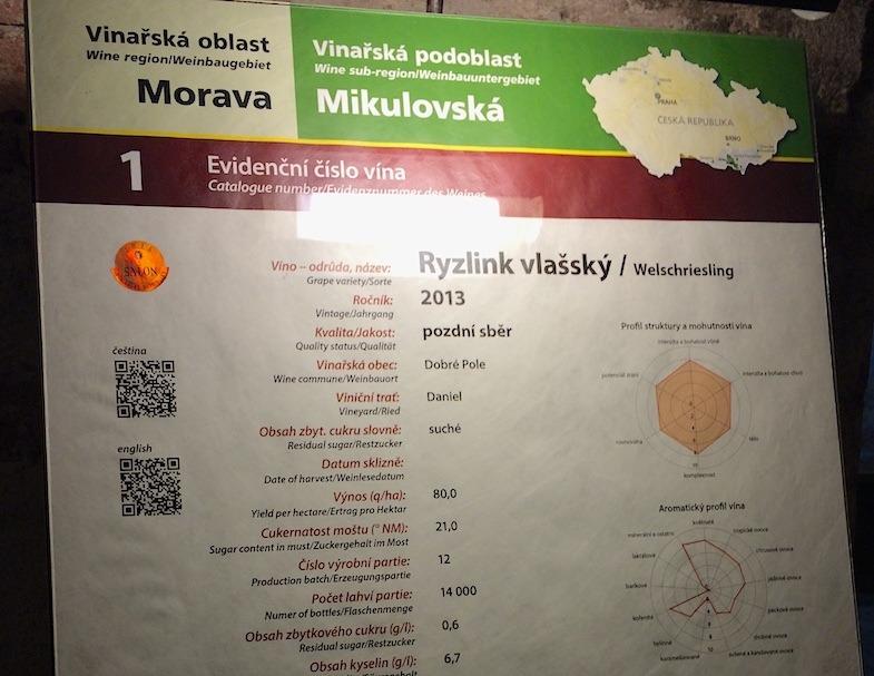 QR Code app at Czech Republic Wine Salon