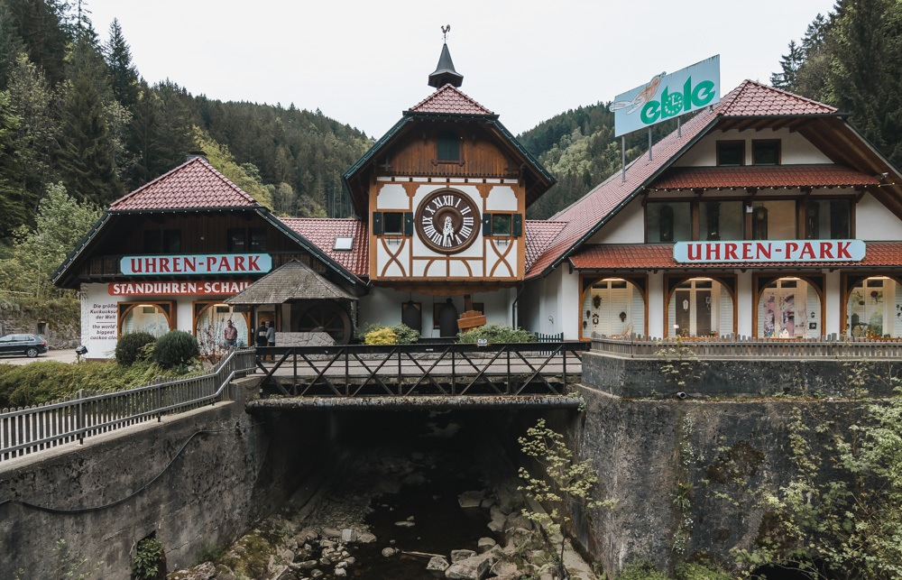 Germany has some incredible roadside attractions, like this world's largest cuckoo clock