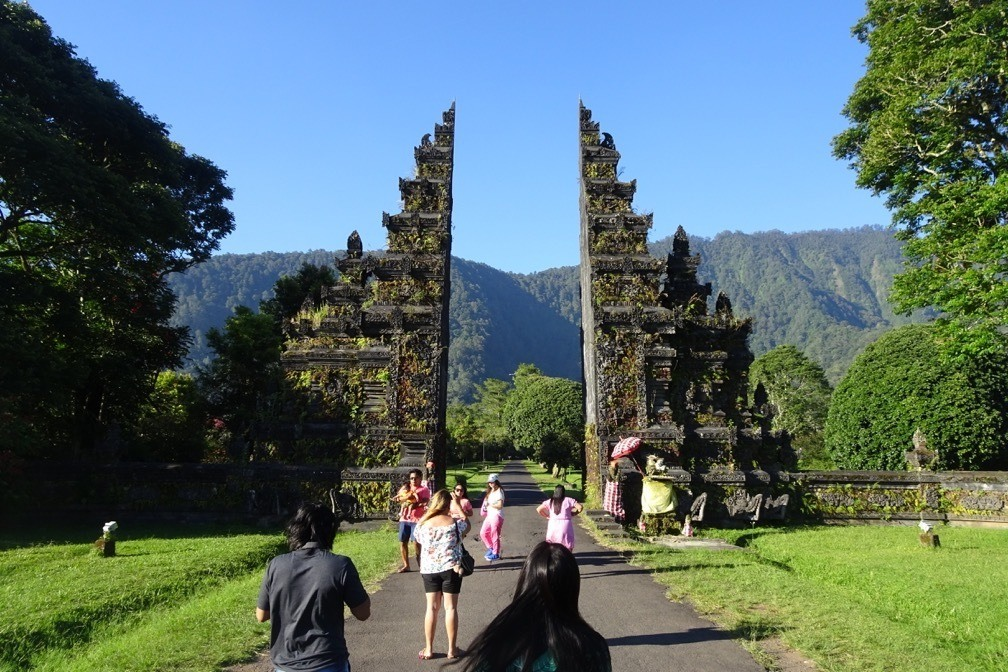 Bali may not be well known for its roadside attractions but Handara gate in Bali has become quite popular