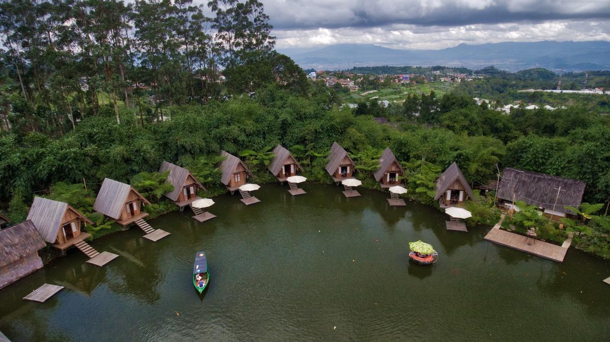 Dusun Bambu aerial photo in BANDUNG by Mike of MikesRoadTrip.com