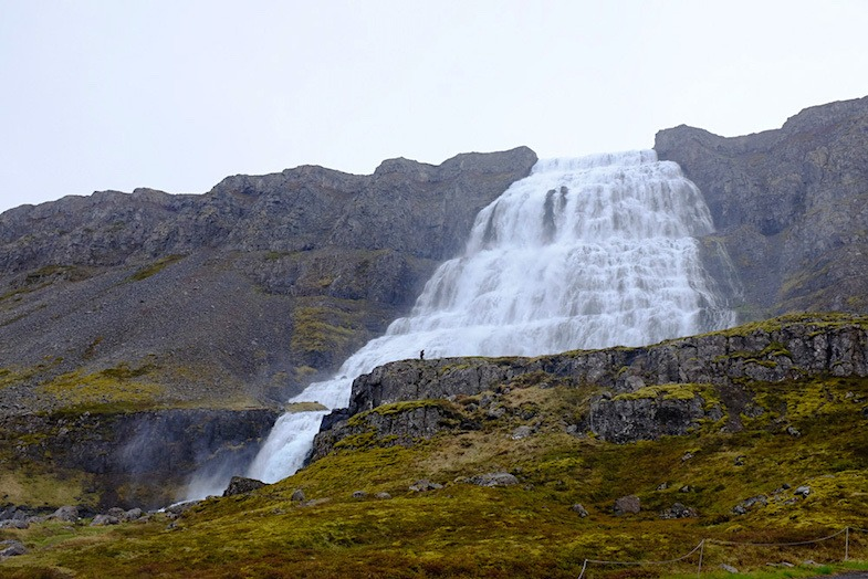 Dynjandi-Waterfall in Iceland for ultimate roadside attractions article