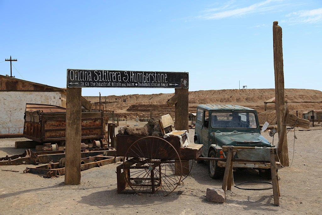 Humberstone in Northern Chile