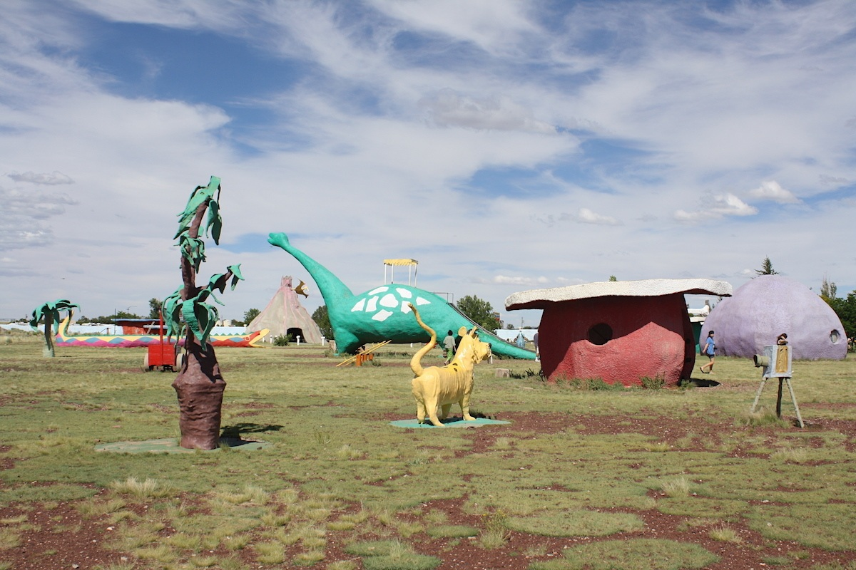 Bedrock City is one of many Arizona Roadside Attractions in the state