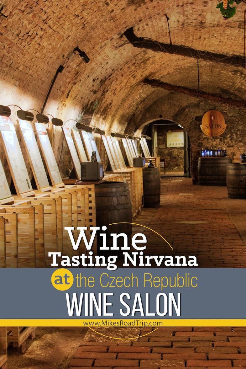 Wine Tasting Nirvana at the Czech Republic Wine Salon by MikesRoadTrip.com