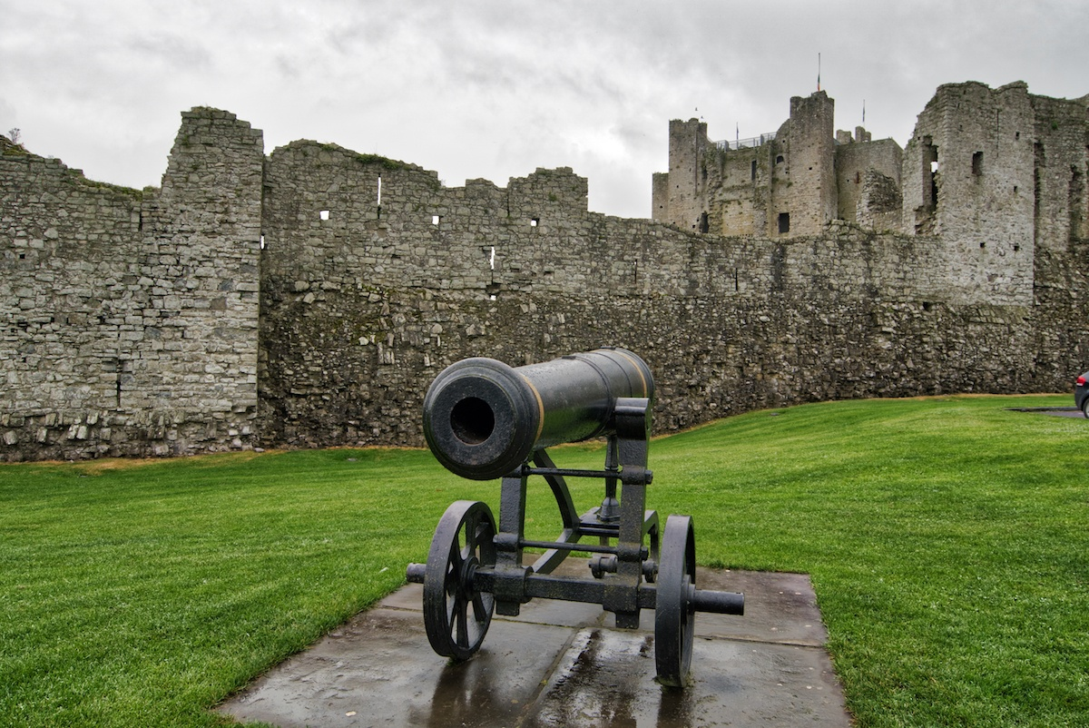 Ireland's Ancient East - Trimm Castle in County Meath Ireland by MikesRoadTrip.com