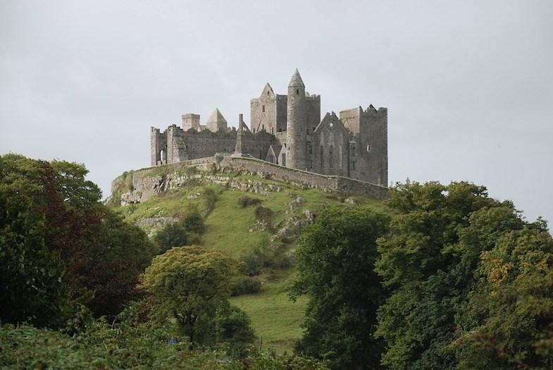 Rock of Cashel roadside attraction in Ireland