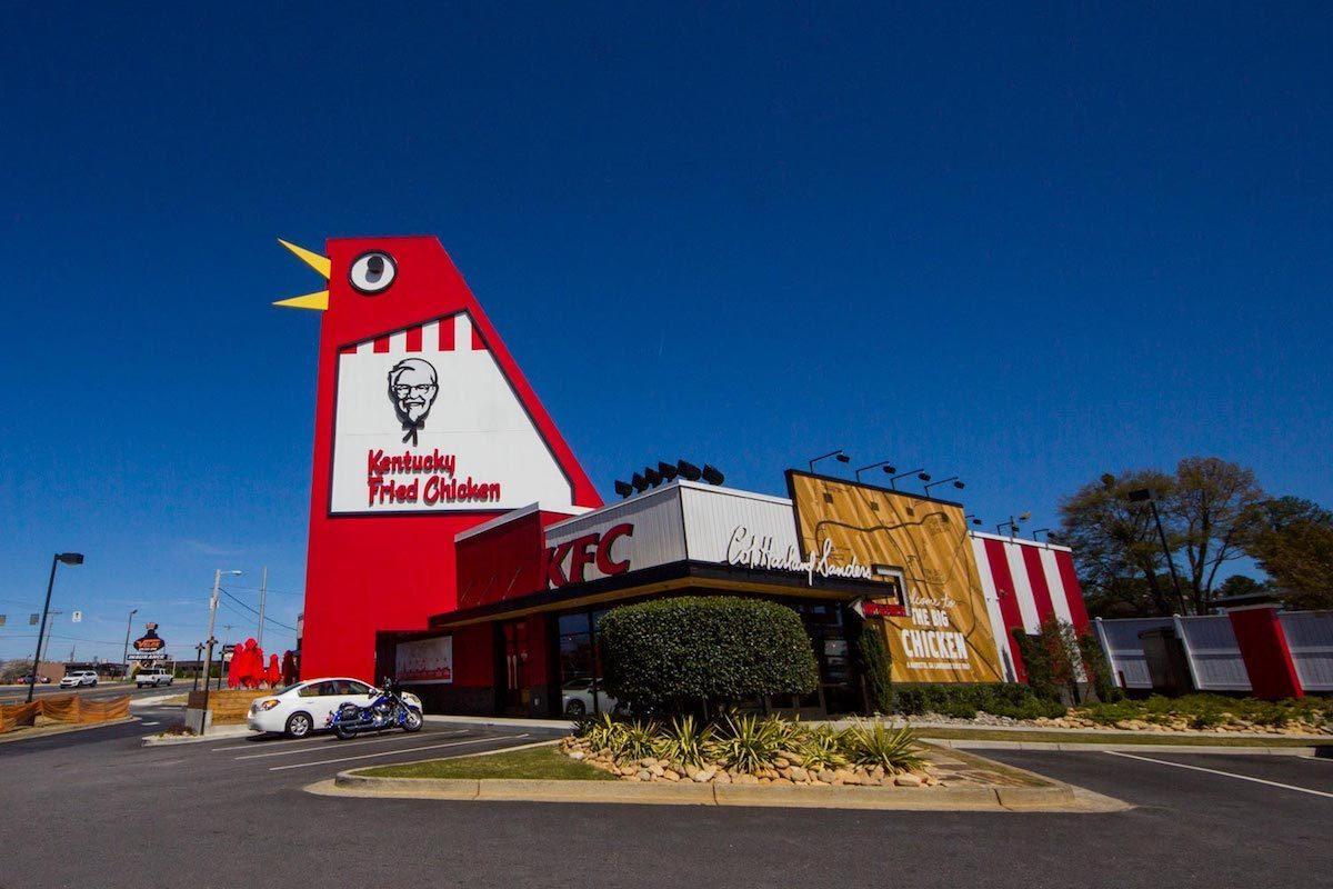 The big Chicken roadside attraction in Georgia