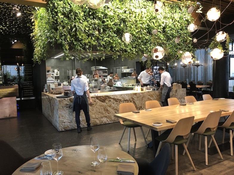 Kitchen at Entree restaurant Theatre Hotel by MikesRoadTrip.com
