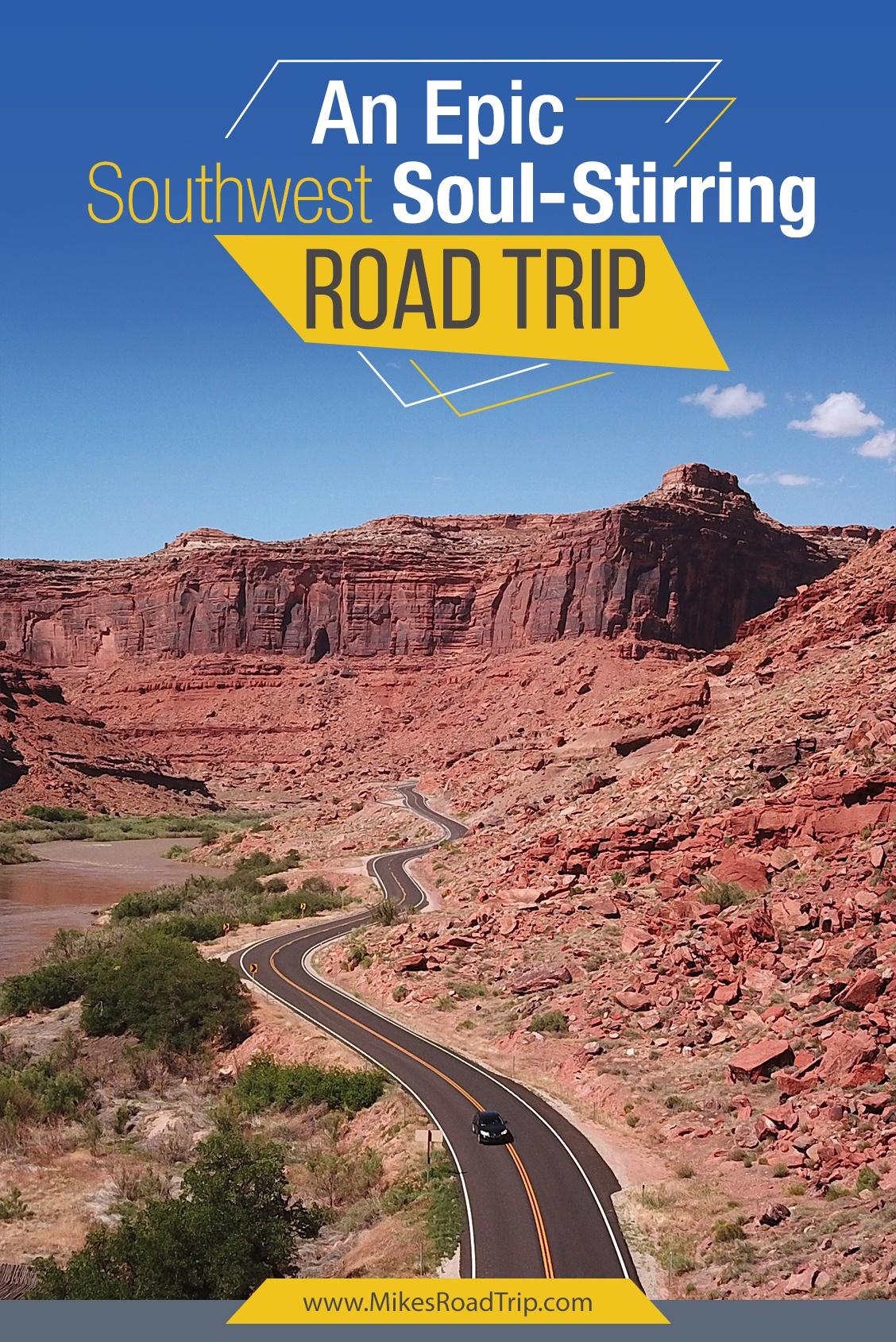 A guide to a Southwest Road Trip by MikesRoadTrip.com