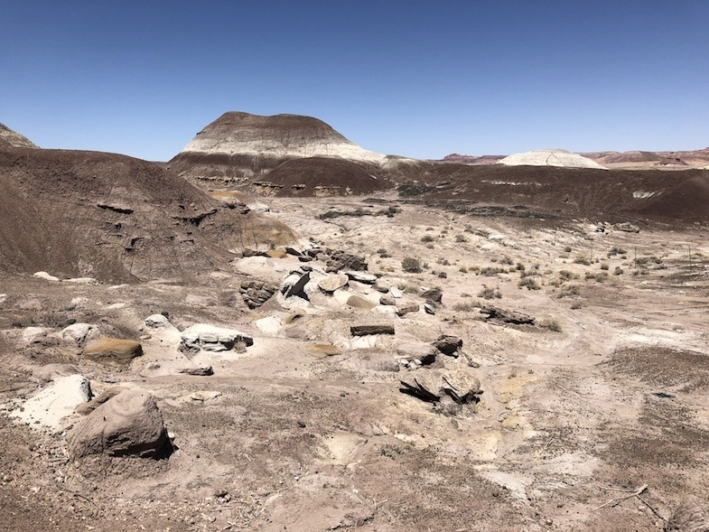 scenes from the Painted Desert on Southwest Road Trip
